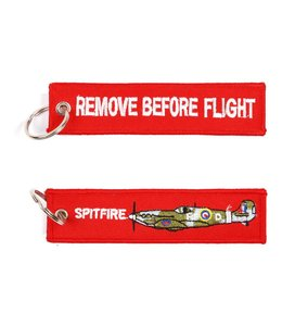 Sleutelhanger Remove before flight + spitfire Misc.