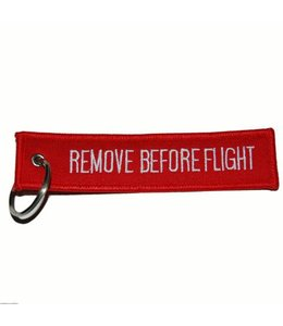Sleutelhanger remove before flight (double side) Misc.