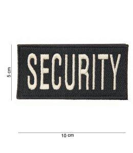 Embleem (patch) security (fat) Zwart