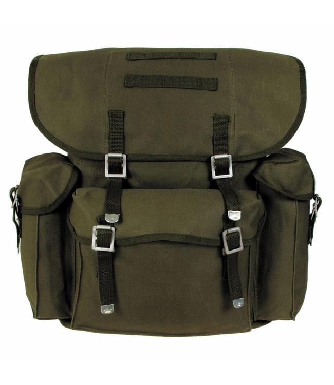 BW Rugzak, OD Groen, with straps