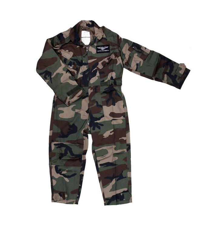 Carnaval Kinder leger overall Woodland camo
