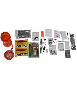 "Combat Survival Kit, ""EXTREM"", 34 pcs,  waterproof box"