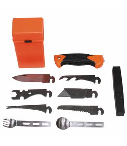 Combat Survival Kit, SPECIAL, 27 pcs,  oranje box