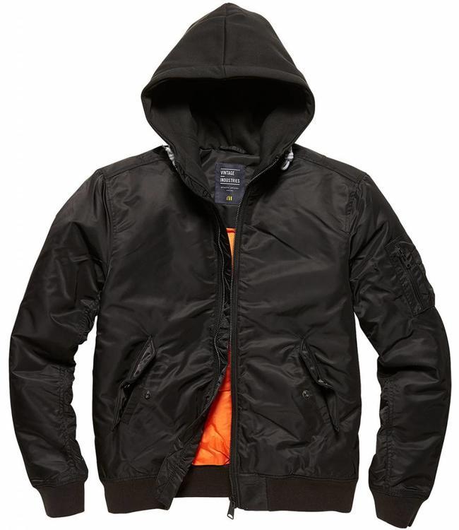 Vintage Industries Westend bomberjacket Winterjas black (black)