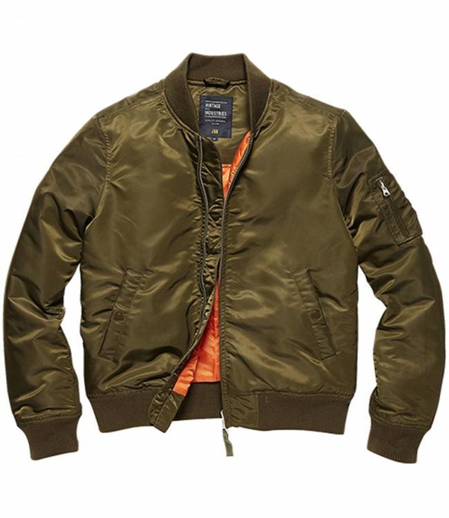 Vintage Industries Liv ladies jacket Damesjas olive drab