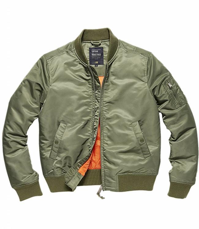 Vintage Industries Liv ladies jacket Damesjas light olive
