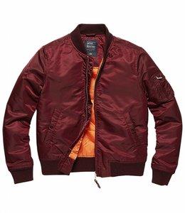 Vintage Industries Liv ladies jacket Damesjas burgundy