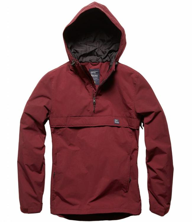 Vintage Industries Shooter anorak burgundy