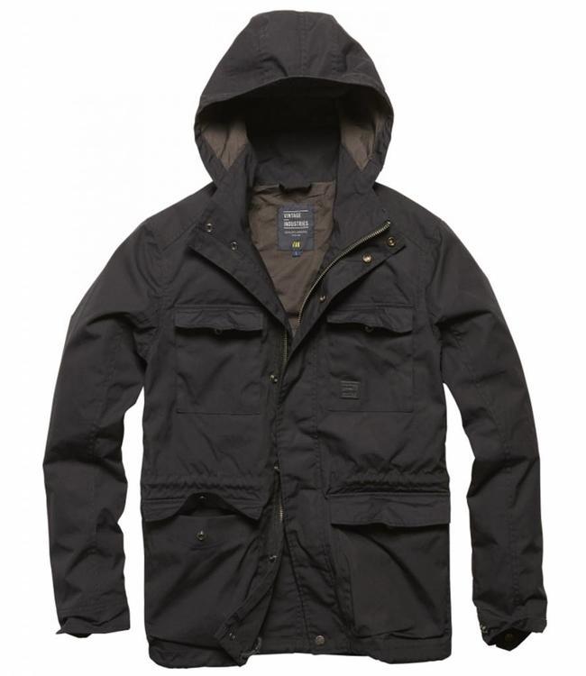 Vintage Industries Thomas jacket black