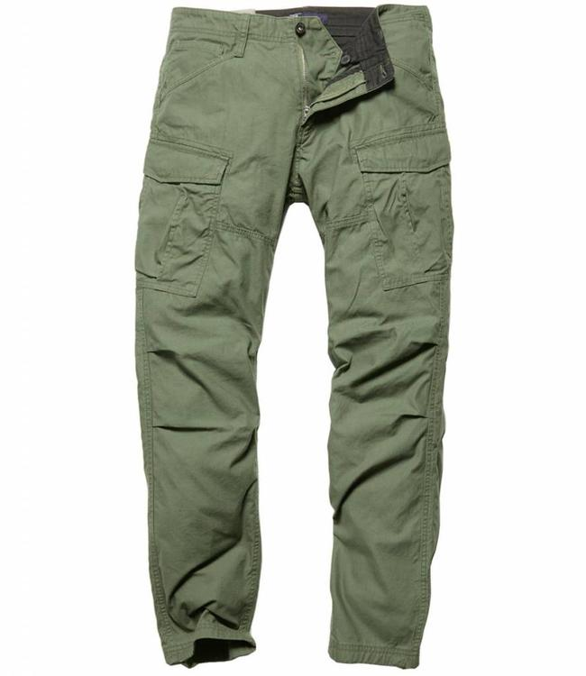 Vintage Industries Lester pants olive