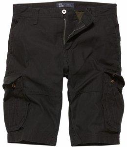 Vintage Industries Rowing shorts black