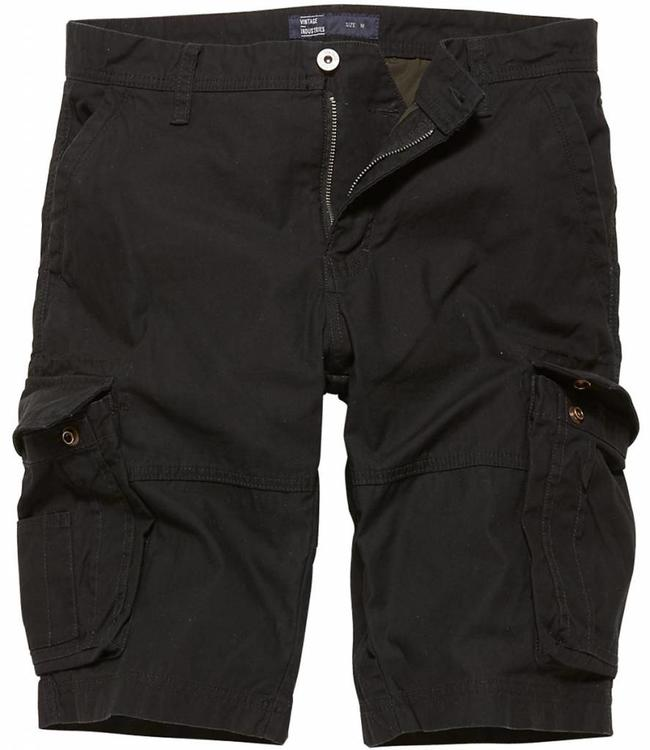 Vintage Industries Rowing shorts black