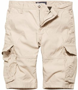 Vintage Industries Rowing shorts stone