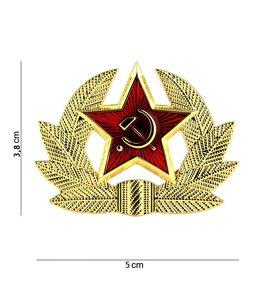 Embleem (badge) Rusland USSR Soviet hamer en sikkel