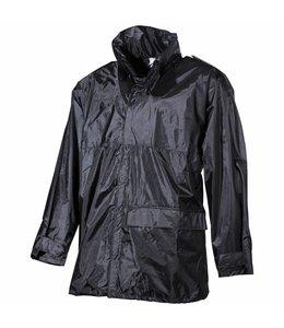 Regenjas KL Zwart