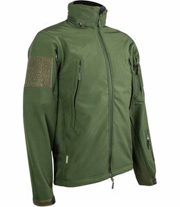 Tactical softshell jacket (Waterafstotend) Olive