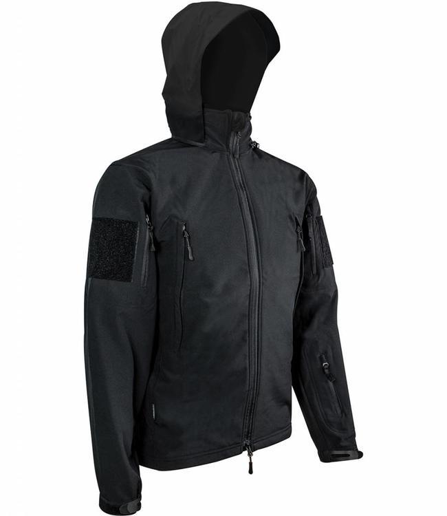 Highlander Tactical softshell jacket (waterafstotend) Zwart