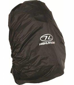 Regenhoes rugzak cover 50-70 liter Zwart
