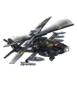 Sluban bouwstenen Apache helicopter M38-B0511
