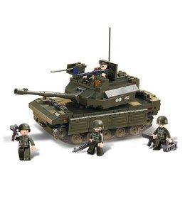 Sluban bouwstenen Tank M38-B6500