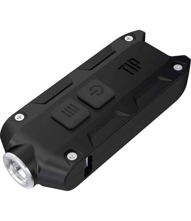 Tip Zwart mini led-zaklamp 360 lumens