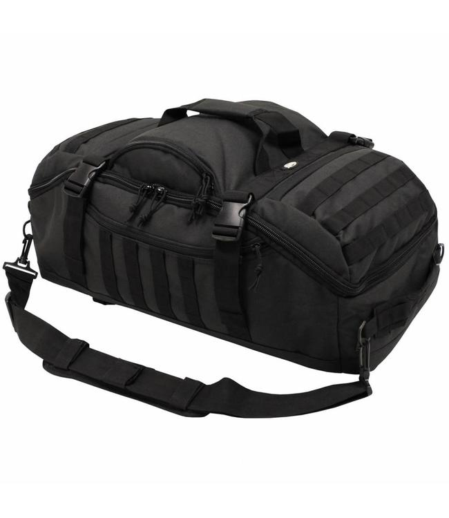 "Backpack Bag, ""Travel"", black Sport tas"