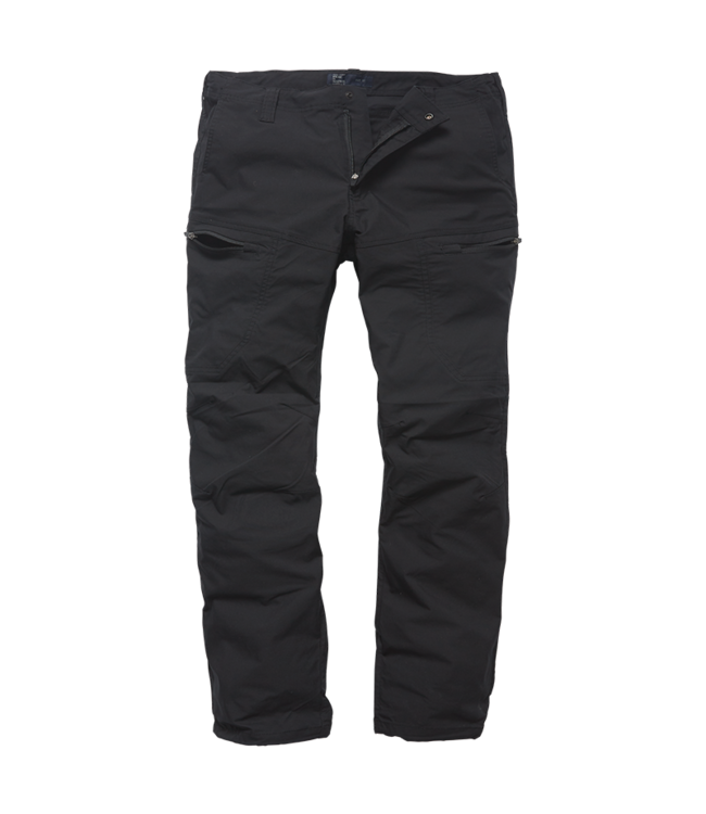 Vintage Industries Kenny technical pants black