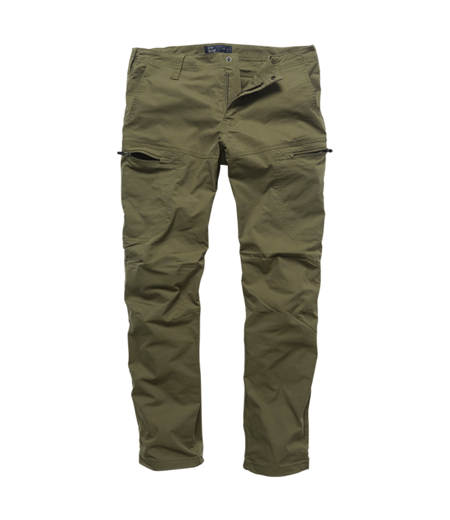Vintage Industries Kenny technical pants olive