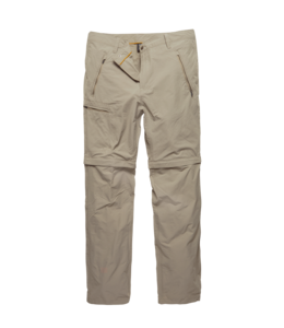 Vintage Industries Minford technical zip-off pants beige