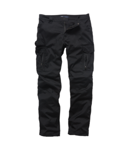 Vintage Industries Blyth technical pants black