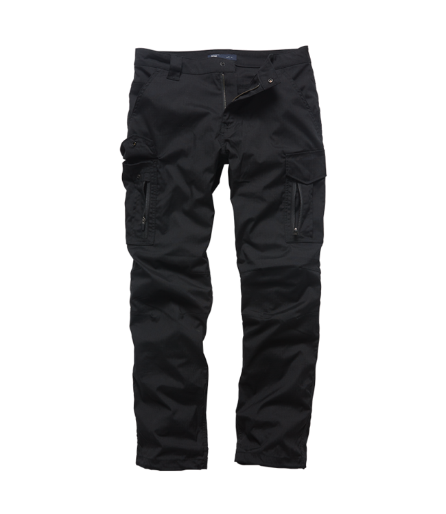 Vintage Industries Blyth technical pants black