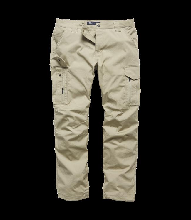 Vintage Industries Blyth technical pants beige