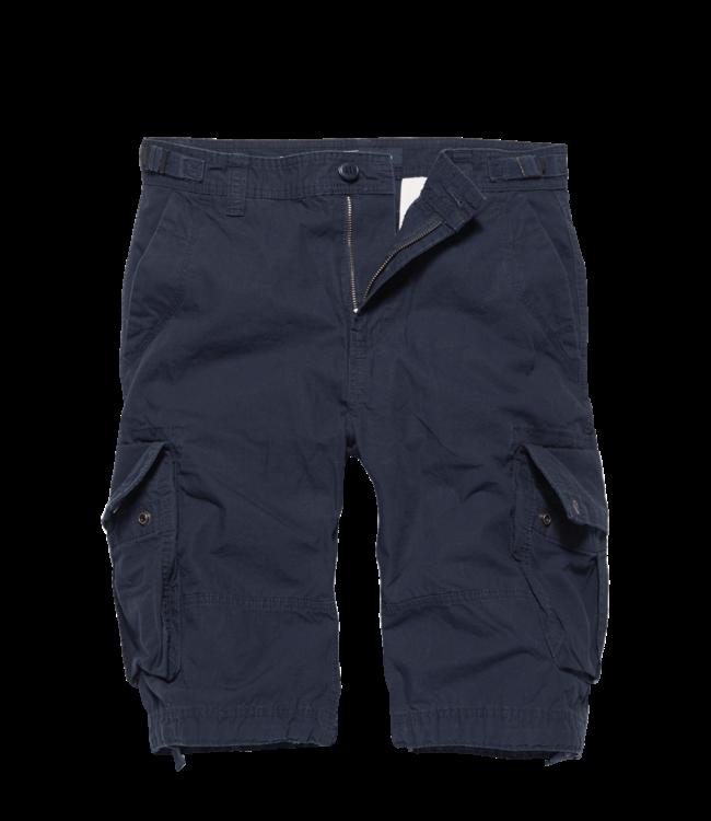 Vintage Industries Terrance shorts korte broek navy blue
