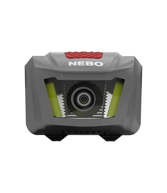 Nebo Hoofdlamp Duo. Met Rood licht en Spot beam 250 lumen