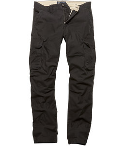 Vintage Industries Reef pants Black cargo broek