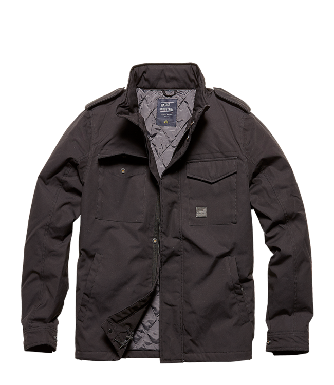 Vintage Industries Alling jacket black