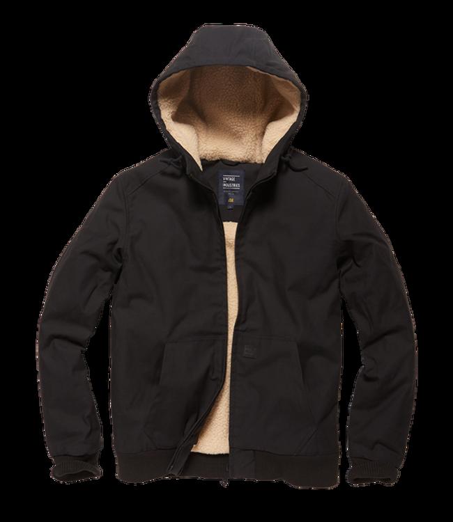 Vintage Industries Datton jacket black