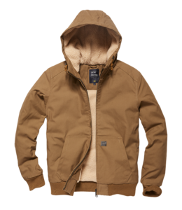 Vintage Industries Datton jacket Dark Tan