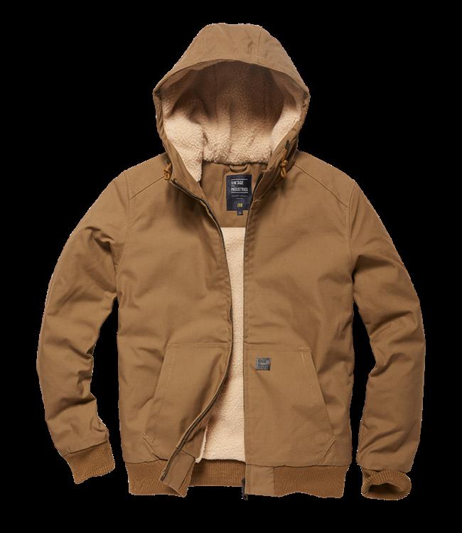Vintage Industries Datton jacket Dark Tan