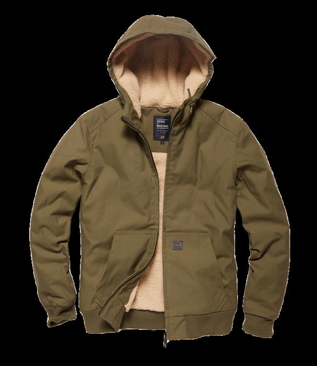 Vintage Industries Datton jacket forest