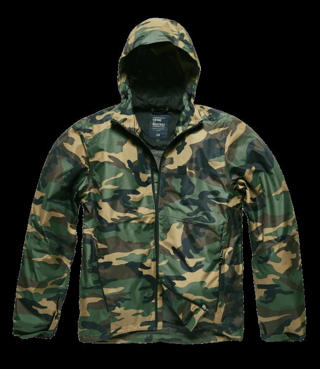 Vintage Industries Verwood jacket woodland camo
