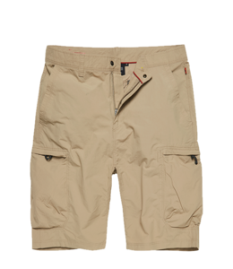 Vintage Industries Lodge technical short beige