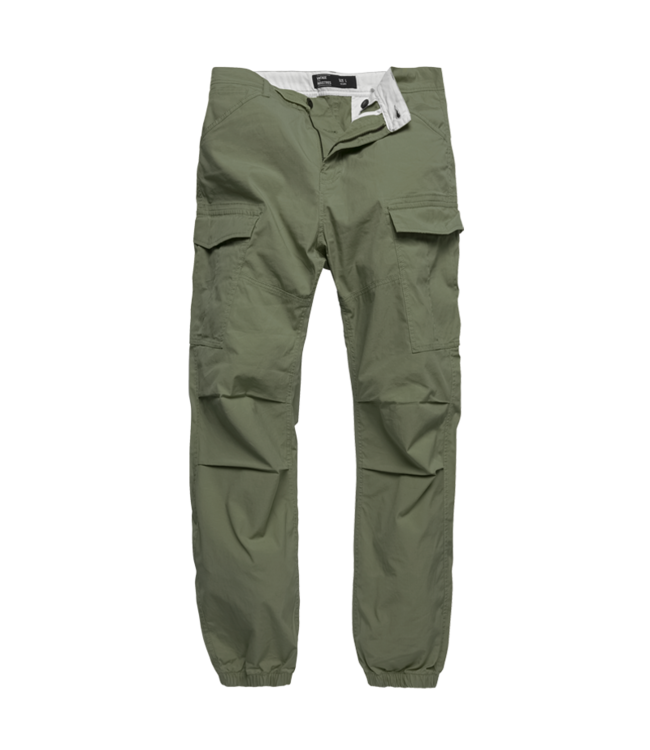 Vintage Industries Conner cargo jogger bright olive