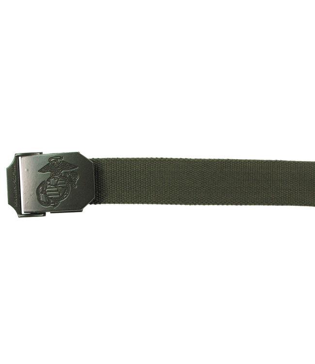 USMC Web Riem, 35 mm, OD Groen
