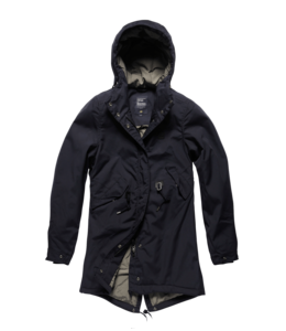 Vintage Industries Britt ladies parka midnight