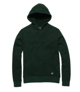 Vintage Industries Derby hooded sweatshirt green