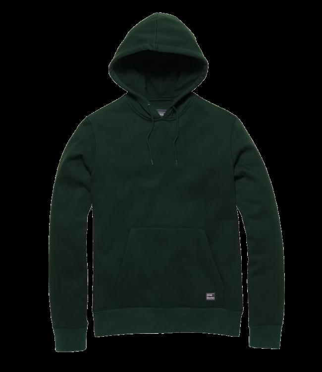 Vintage Industries Derby hooded sweatshirt green