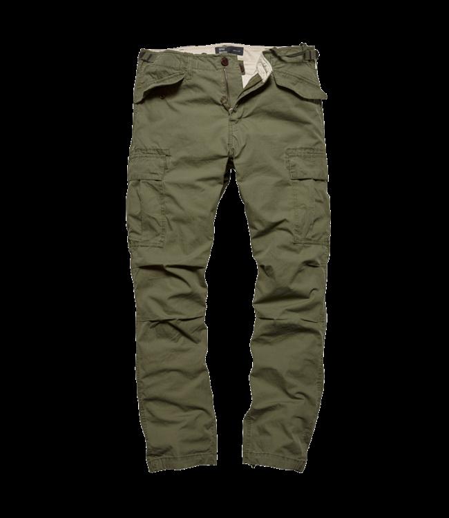 Vintage Industries Miller M65 pants olive sage