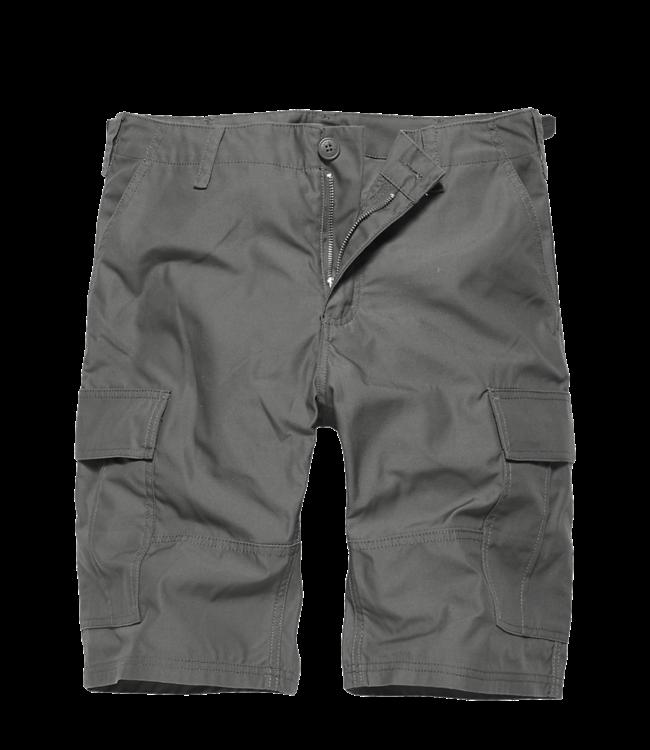 Vintage Industries BDU T/C shorts Korte broek grey