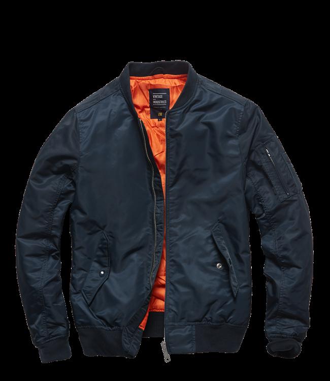 Vintage Industries Welder jacket night sky